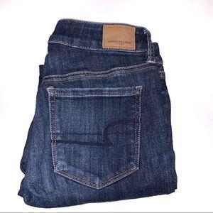 American Eagle Hi-Rise Super Stretch Skinny Jeans